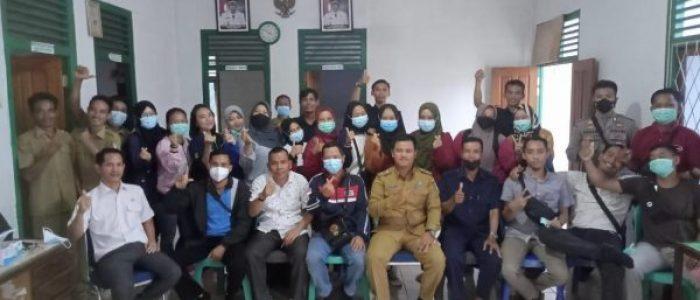 Vaksinasi Covid-19 di Desa Lundang Baru Berjalan Lancar